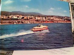 REGGIO  CALABRIA NAVE SHIP  ALISCAFO  V1967  GA12665 - Reggio Calabria