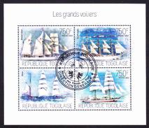 LES GRANDS VOILIERS - Republique Du Togo, 2013