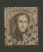 1863 - COB N° 14B - Dent. 14 1/2 X 14 1/2 - Oblitéré ?? -  Voir Description