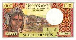 DJIBOUTI 1000 FRANCS 1979-88nd Pick 37?  UNC/NEUF - Djibouti