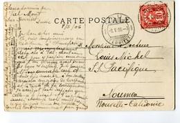 Schweiz Caux 8-5-1906 Ansichtskarte Nach Noumea Nouvelle-Calédonie Mit Ankunftsstempel