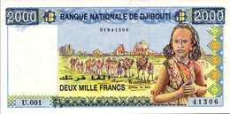 DJIBOUTI 2000 FRANCS 1997nd Pick 40  UNC/NEUF - Djibouti