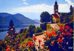 Ronco S - Ascona - Lago Maggiore - 628 - Formato Grande Viaggiata – E1 - TI Ticino
