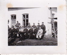 Foto Deutsche Soldaten Bei Unterricht - 2. WK - 5*4cm (27583)