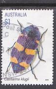 2016. AUSTRALIAN DECIMAL. Jewel Beetles. $1. Castiarina Klugii. FU.