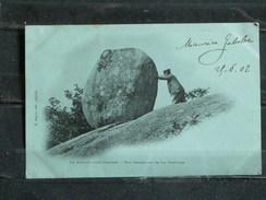 G4 - 81 - Le Sidobre Pres Castres - Roc Tremblant De La Fontasse - Edition E. Sagnes - 1902 - Castres