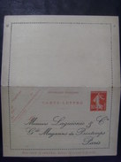 17490- CL Semeuse Camée 10 C Rouge Repiquage Commercial Laguionie Grands Magasins Du Printemps, Neuve