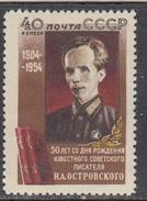 USSR 1954 - N. Ostrovski, Mi-Nr. 1727, MNH**
