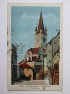 Sibiu/Hermannstadt/Nagyszeben,Romanian Used Postcard 1937 - Roemenië
