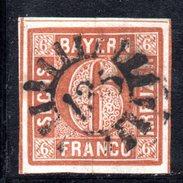 T77 - BAYERN  , Il 6 Kreutzer  Usato