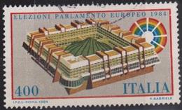 ITALIA - Valore Usato Di 400 Lire - Elezioni Del Parlamento Europeo - 16.4.1984