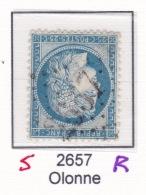 GC 2657R (remplacant) (signe) Sur 60 - Olonne (79 Vendee)