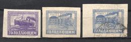 RUSSIE (Rép. Soc. Féd. Des Soviets De Russie) - 1922 - N° 185 Et 186 (Au Profit Des Victimes De La Famine)