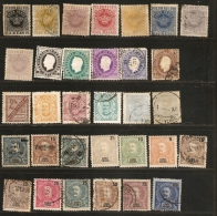 Cabo Verde Kapverdisch Insel 1877-1905 30+ Stamps Unused/cancelled