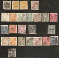 Guiné Portuguesa - Guinea Bissau, 1880-1915, 24 Stamps  Unused/cancelled, Portugiesisch-Guinea