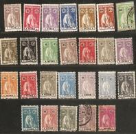 Guiné Portuguesa - Guinea Bissau, 1914-1923, 45 Stamps  Unused/cancelled, Portugiesisch-Guinea
