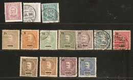 Inhambane, Mocambique 1892-1911, 24 Stamps  Unused/cancelled, Azoren