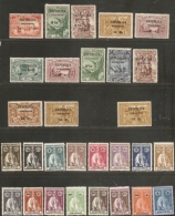 Inhambane, Mocambique 1913-1914, 30 Stamps  Unused/cancelled, Azoren