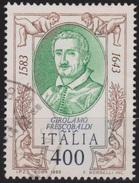 ITALIA - Valore Usato Di 400 Lire - 4° Centenario Della Nascita Di Girolamo Frescobaldi - 15.9.1983