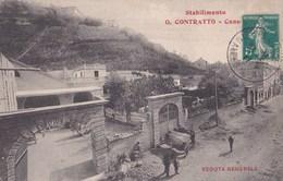 Carte Postale Stabilimento Vini G. Contratto,    Canelli   Veduta Generale - Italia