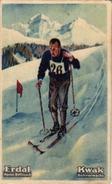 6 Cards  Pub Erdal Kwak Ski Skifahren Olympische Spiele In St Moritz 1928 Ski Sprung Skiing - Chromos