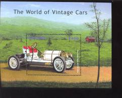 GUYANA   3469   VINTAGE  MERCEDES  MINT NEVER HINGED SOUVENIR SHEET OF CARS  # 336-1 ( - Auto's