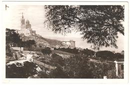 Marseille - Notre-Dame De La Garde à Travers Les Pins - Carte Photo - 1939
