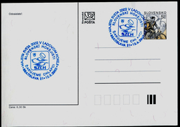 613 SLOVAKIA Prepaid Postal Card World Champion Ice Hockey Championship 2002 Gothenburg Sweden Thanks Boys 2002