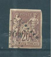 Colonie Type Sage  Timbres De 1877/79  N°34  Oblitéré  (Type II) - Sage