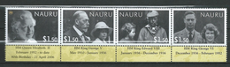 Nauru 2006 Year Of The Three Kings.serial.MNH