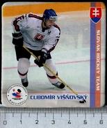 617-SLOVAKIA Lubomir VISNOVSKY, Hockey Player Slovakia + NHL Player + Player KHL Magnet