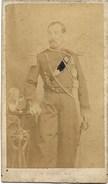Militaire De La Garde Imperial ? C.1860-1870 - Photo Cdv 2scans Uniforme - à Strasbourg Seconde Empire