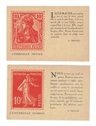 2 CPA GUERRE 14/18 - PROPAGANDE - Guerre 1914-18