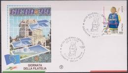 ITALIA :  FDC - Giornata Della Filatelia. - Annullo Da  Ravenna  Del  25.09.1999