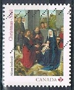 CANADA 1702161 - 2015 NVI Christmas Nativity Used S/a Single