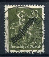 33366) DEUTSCHES REICH Dienst # 76 Gestempelt Aus 1923, 45.- €