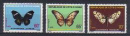 COTE D'IVOIRE - N°  498/500  -  N**