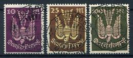 33367) DEUTSCHES REICH # 235-37 Gestempelt GEPRÜFT Aus 1923, 32.- €