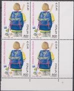 ITALIA :  QUARTINA - Giornata Della Filatelia 1999 - 1 Val.  £.  800 / 0,41 €. MNH** Del   25.09.1999