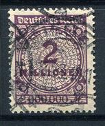 33371) DEUTSCHES REICH # 315 A Gestempelt GEPRÜFT Aus 1923, 26.- €