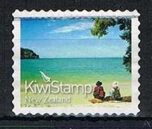 NEW ZEALAND 170295 - 2011 NVI Kiwi Stamp Used S/a Single