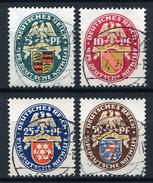 33377) DEUTSCHES REICH # 398-401 Gestempelt Aus 1926, 160.- €