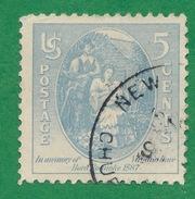 United States - 1937 - Virginia Dare & Parents - Scott #796