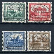 33383) DEUTSCHES REICH # 450-53 Gestempelt Aus 1930, 140.- € - Oblitérés