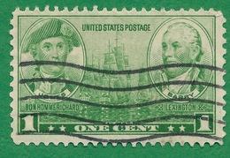 United States - 1936-37 - John Paul Jones & John Barry - Scott #790