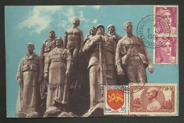 Centenaire Du Maréchal GALLIENI / PARIS 06.07.1949 / Timbre & Carte Concordante