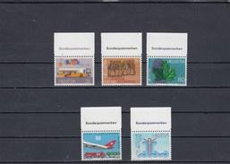 Suisse - Neuf** - Anniversaires - Année 1987 - YT 1269/73