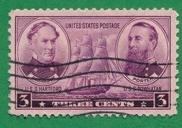 United States - 1936-37 - Admirals David G. Farragut & David D. Porter - Scott #792