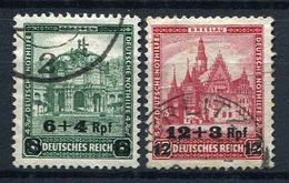 33386) DEUTSCHES REICH # 463-64 Gestempelt Aus 1932, 28.- €