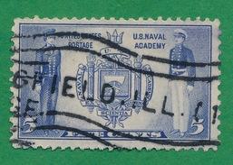 United States - 1936-37 - Seal Of U.S. Naval Academy - Scott #794